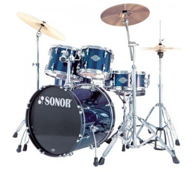 17203108 SFX 11 Studio Set WM 13004 Smart Force Xtend Барабанная установка, синяя, Sonor