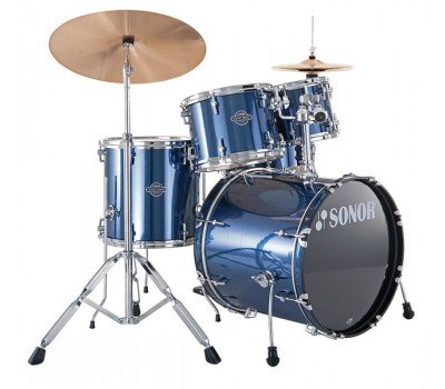 17200108 SMF 11 Studio Set WM 13004 Smart Force Барабанная установка, синяя, Sonor