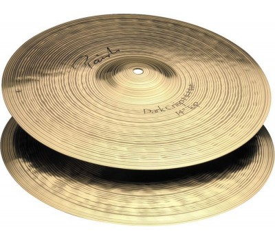 "0004006414 Signature Dark Crisp Hi Hat Две тарелки 14"", Paiste"