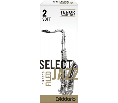 RSF05TSX2S Select Jazz Трости для саксофона тенор, размер 2, мягкие (Soft), 5шт, Rico