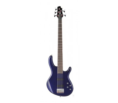 Action-Bass-V-Plus-BM Action Series Бас-гитара 5-ти струнная, синяя, Cort
