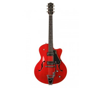 035182 5th Avenue Uptown Tr Red GT w/Bigsby Электрогитара арктоп, с футляром, Godin