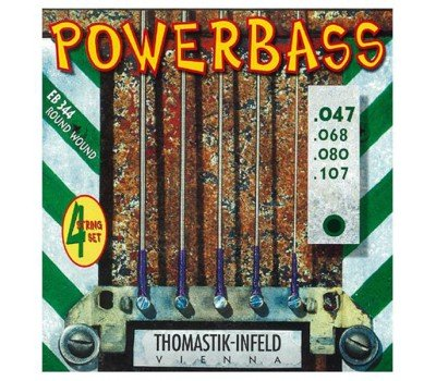 EB344 Power Bass Комплект струн для бас-гитары, Medium Light, 47-107, Thomastik