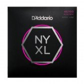 NYXL45100SL NYXL Комплект струн для бас-гитары, никел, Super Long, Regular Light, 45-100, D'Addario