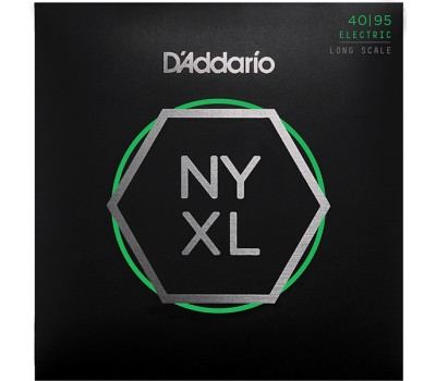NYXL4095 NYXL Комплект струн для бас-гитары, Long Scale, Super Light, 40-95, D'Addario