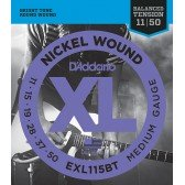 EXL115BT Nickel Wound Комплект струн для электрогитары, Medium, 11-50, D'Addario