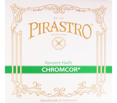 Струна F (5 октава) для арфы, сталь, Pirastro 375700 CHROMCOR